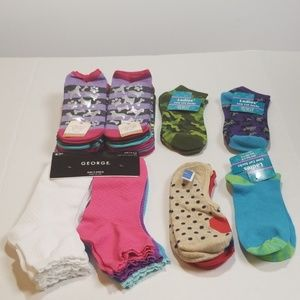 Other - Girl sock bundle size  large  (4-10)